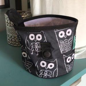 thirty-one Storage & Organization - Thirty one Oh-Snap bin black white It's Owl Good